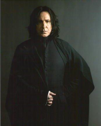 魔法薬学の教員セブルス・スネイプ