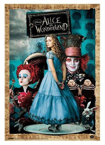 3DPP-51 3Dポスター 47×67cm Alice Wonderlandアリス・イン・ワンダーランド