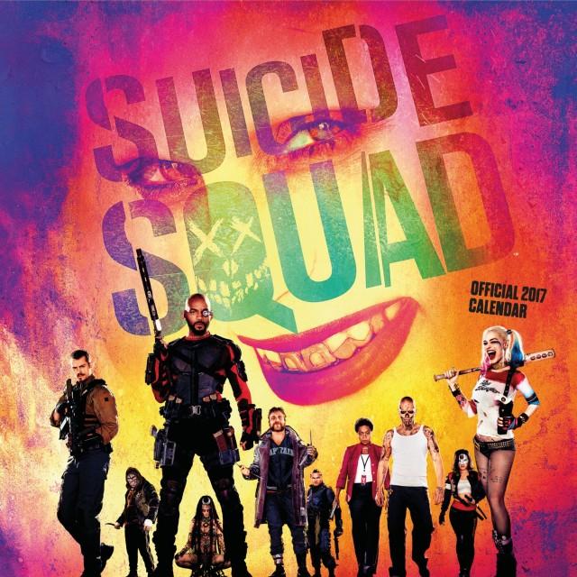 Suicide Squad Official 2017 Square Calendar (Calendar 2017)