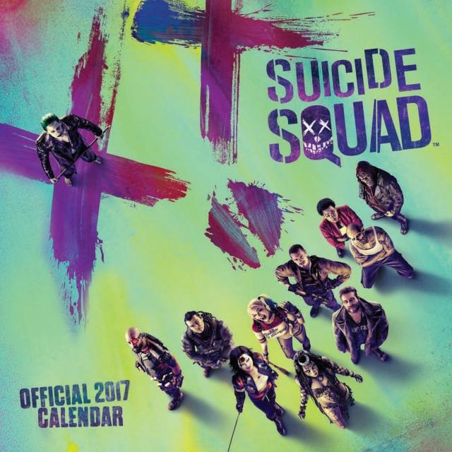 Suicide Squad Official 2017 Square Calendar (Calendar 2017) 2