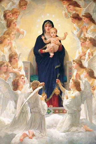 1000ピース ジグソーパズル 聖母と天使 (50x75cm)