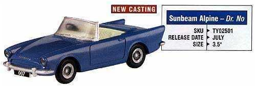 CORGI 1:36 – TY02501 SUNBEAM ALPINE JAMES BOND 007 – DR. NO