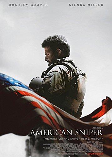 映画 アメリカン スナイパー ポスター 約90x60cm ブラッドリー クーパー American Sniper [並行輸入品]