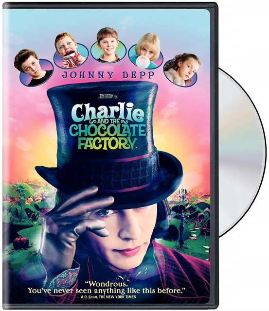 ジョニーデップ チャーリーとチョコレート工場