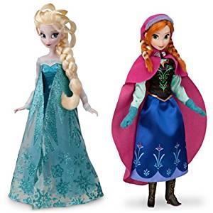 アナと雪の女王:アナとエルサ