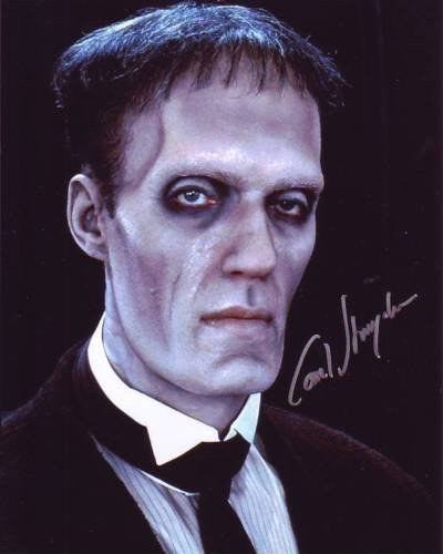 CAREL STRUYCKEN signed autographed THE ADDAMS FAMILY LURCH photo