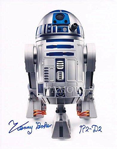 直筆サイン入り写真 R2D2役 スターウォーズ 映画グッズ (ケニー・ベイカー)【証明書(COA)・保証書付き】