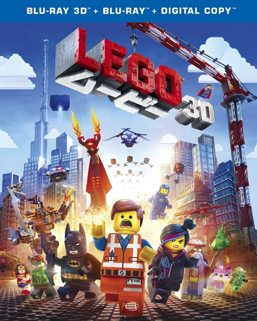 LEGO®ムービー 3D&2D ブルーレイセット(初回限定生産/2枚組/デジタルコピー付)