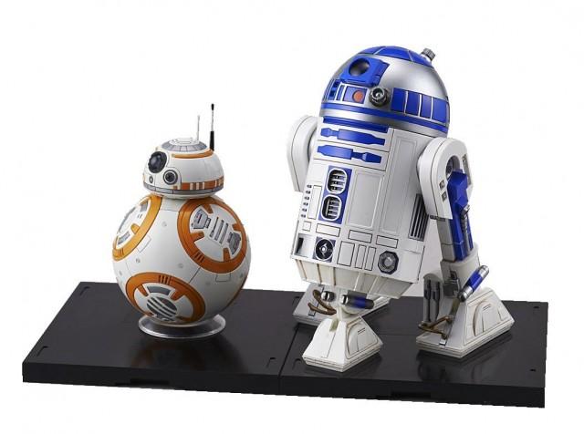 スター・ウォーズ BB-8 & R2-D2 1:12スケール プラモデル