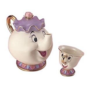 ディズニー:ポット夫人とチップくん