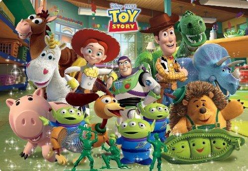 40ピース 子供向けパズル トイ・ストーリー おもちゃがいっぱい チャイルドパズル