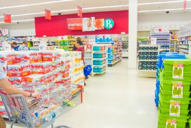 ショッピングモール、スーパー