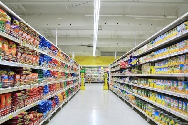 スーパー、ショッピングモール