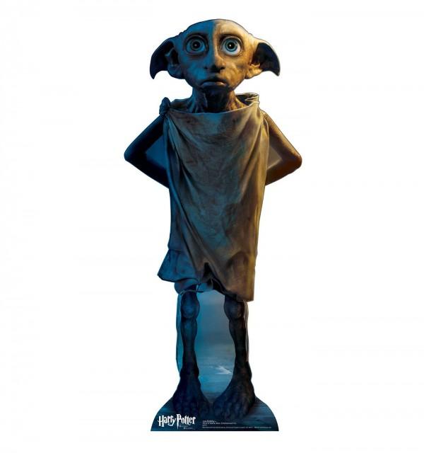 ドビー – ハリー·ポッターと死の秘宝 – 12 x 36 x 15.5 inchesグラフィックス段ボール等身大パネル平行輸入品