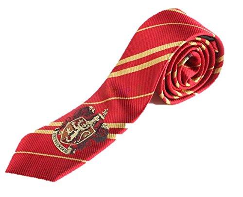 Fantasy ハリー ポッター グリフィンドール Harry Potter Gryffindor ネクタイ レッド スクール 道具 小物 アイテム (ネクタイ 紋章有り)FA067