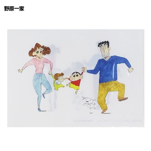 クレヨンしんちゃん[ファイル]A4シングルクリアファイル:2016AW 【野原一家 】