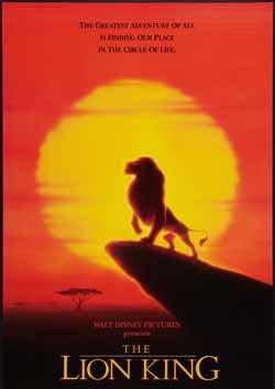 『ライオンキング』ポスター