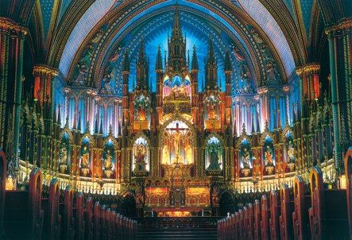世界極小2000ピース ジグソーパズル ノートルダム大聖堂 (49x72cm)