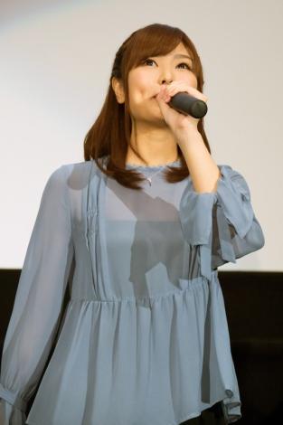 潮田渚役の渕上舞