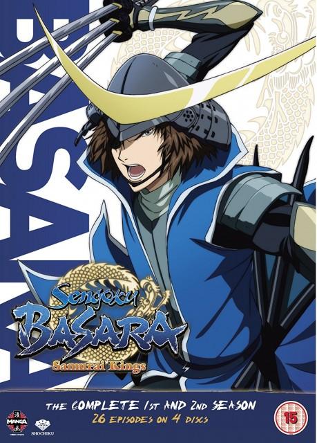 戦国BASARA + 戦国BASARA弐 1+2期コンプリート DVD-BOX (全26話, 611分) アニメ