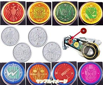 仮面ライダーオーズ オーメダル OOO 変身 コアメダル セルメダル 食玩 バンダイ(全12種フルコンプセット)