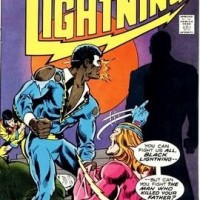 https://www.amazon.com/Black-Lightning-Comics-black-lightning/dp/B000PQMNT0/ref=sr_1_11?ie=UTF8&qid=1489067179&sr=8-11&keywords=black+lightning+comic