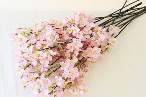 山久 (シルクフラワー)桜の小枝12本入1箱 FV6635 18011422-tanp-j (T触)(店舗装飾用)【造花】
