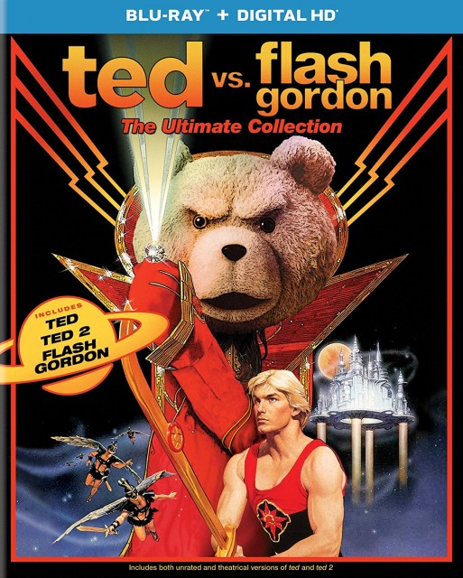 『テッド vs フラッシュ・ゴードン(原題)』Ted vs. Flash Gordon: The Ultimate Collection