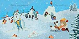 『恋人たちのクリスマス』絵本ページ