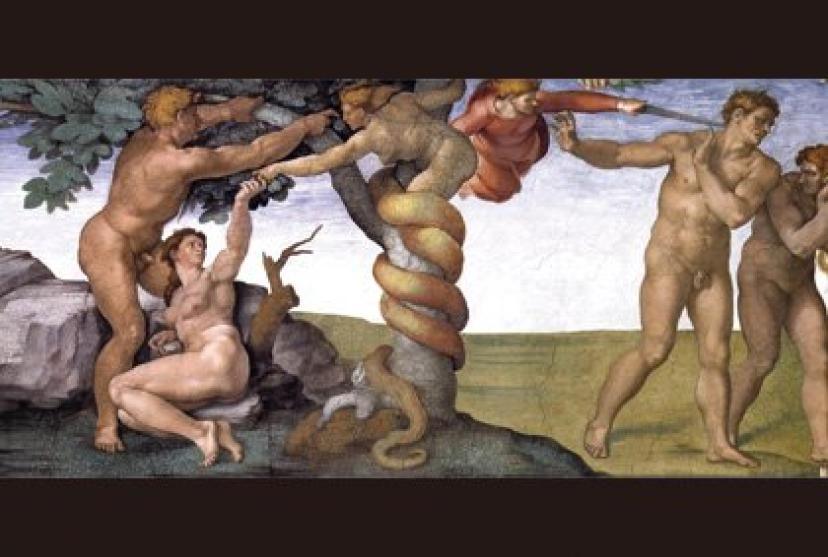 『新世紀エヴァンゲリオン』アダムとエヴァ
