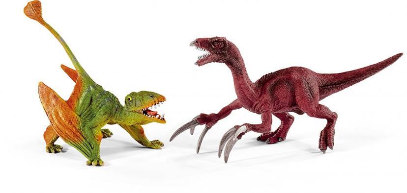 Schleich シュライヒ 恐竜 ディモルフォドンとテリジノサウルス(小) 41425