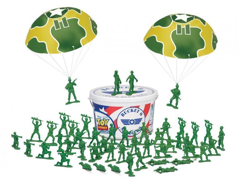Toy Story Bucket o Soldiers トイストーリー グリーンアーミーメン