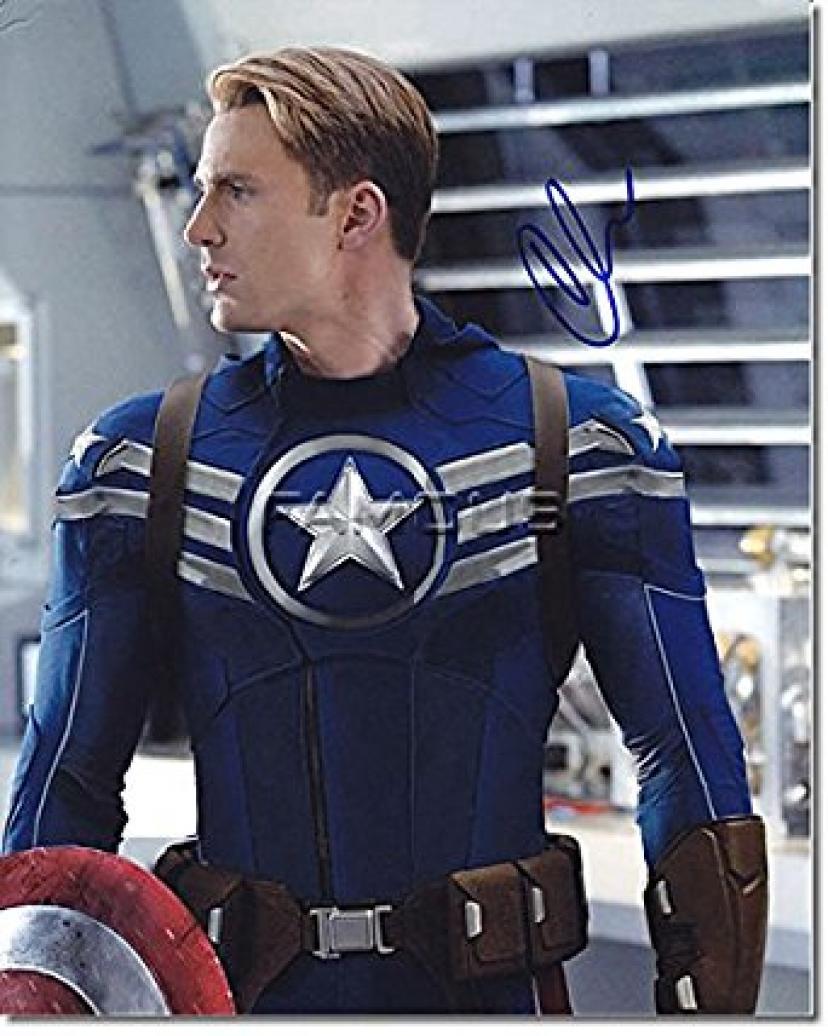 キャプテンアメリカ、クリス・エヴァンス