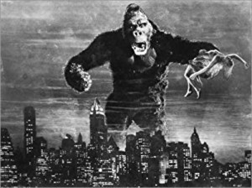 1933年版『キングコング』