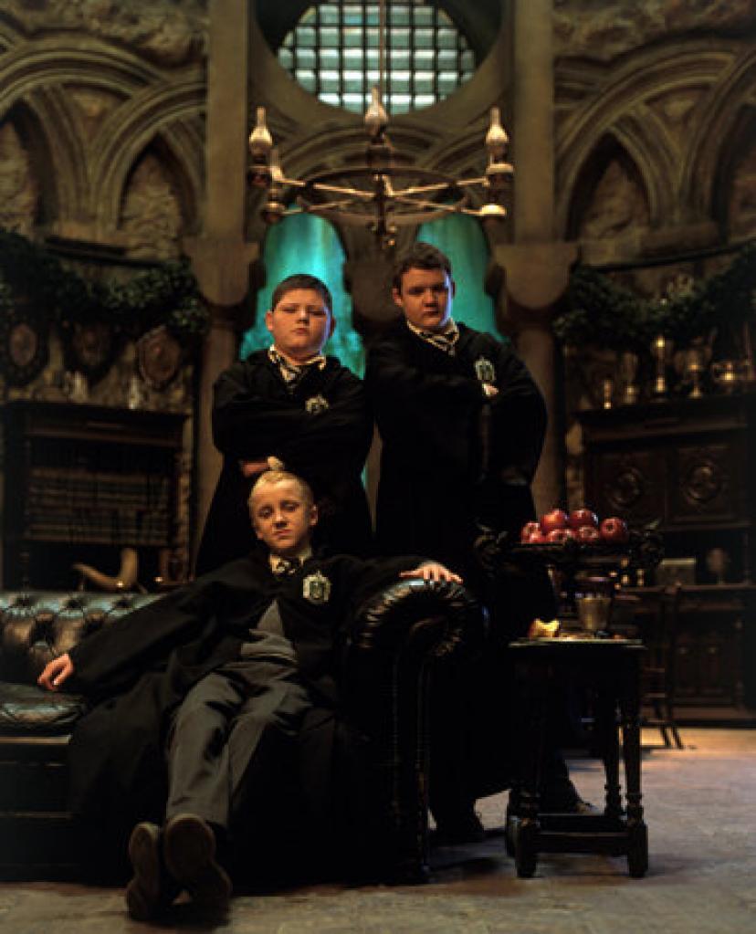 2002ハリーポッターと秘密の部屋マルフォイとスリザリン