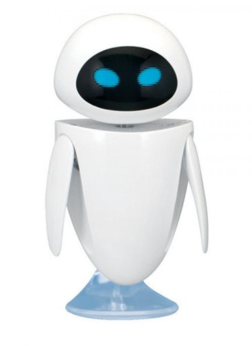 イヴ (ウォーリーアクションフィギュア) Wall-E Action Figure Eve【並行輸入】