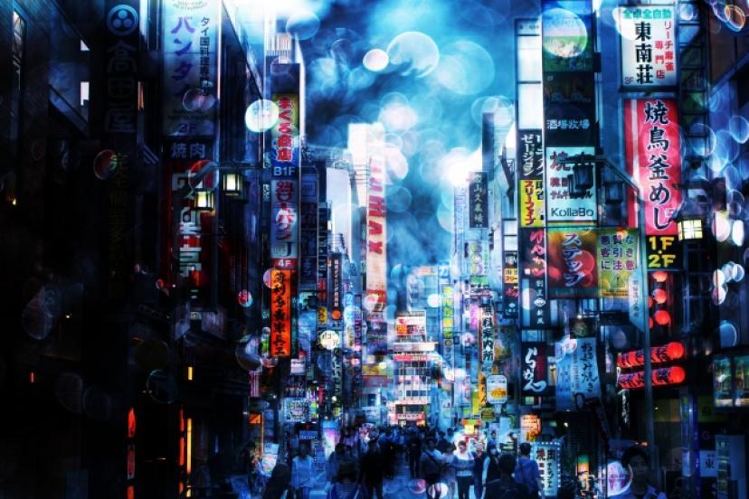 歌舞伎町、フリー素材