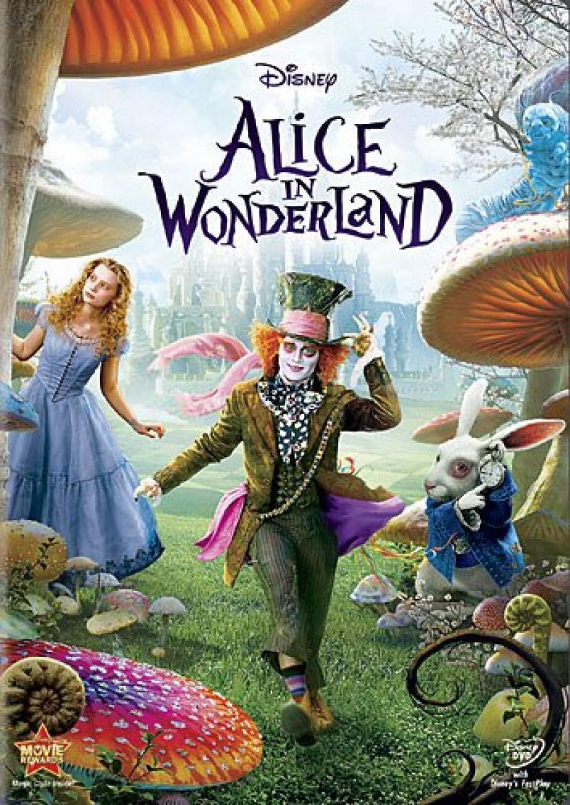 『アリス・イン・ワンダーランド』DVD