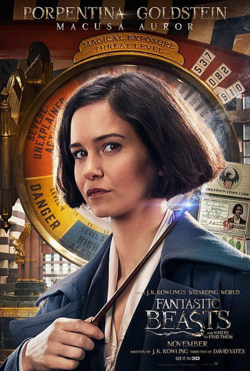 『ファンタスティック・ビーストと魔法使いの旅』 キャサリン・ウォーターストン