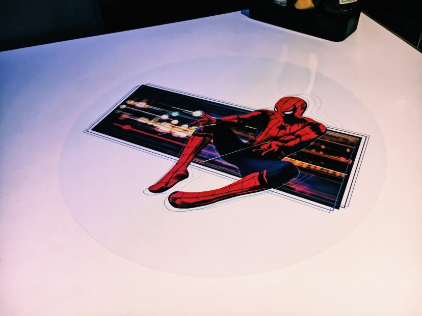 スパイダーマンカフェ