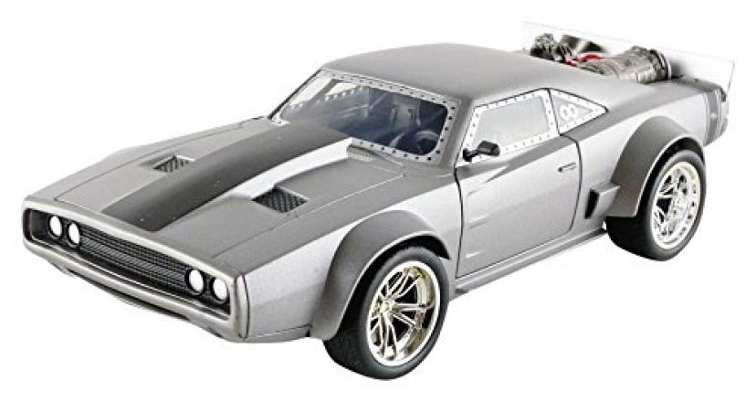 1:24 FAST & FURIOUS DIECAST MINICAR DOM'S ICE CHARGER