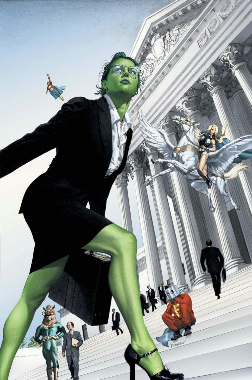 She-Hulk Vol. 2: Superhuman Law Paperback – July 19, 2006