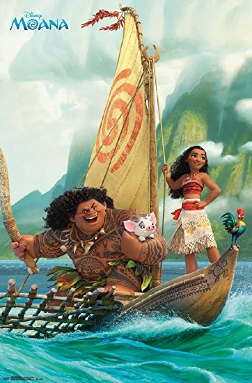 "Trends International Moana Group Wall Poster 22.375"" x 34"""