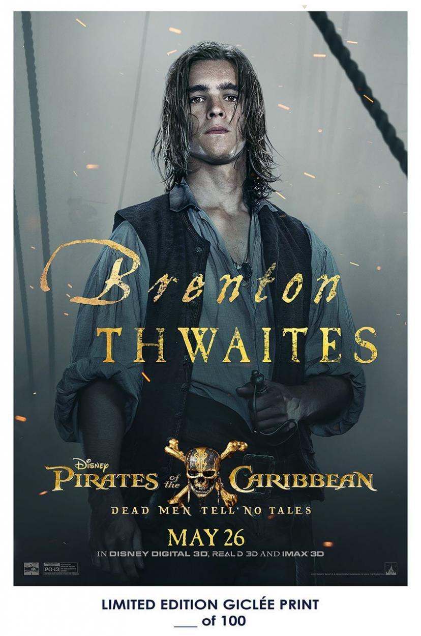 『パイレーツ・オブ・カリビアン/最後の海賊』 ヘンリー・ターナー