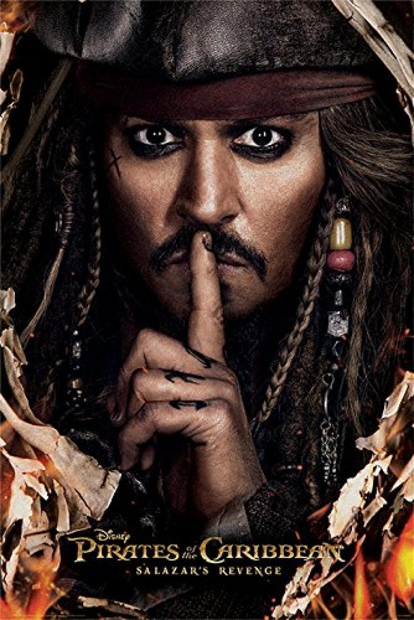 ジョニー・デップ『パイレーツ・オブ・カリビアン/最後の海賊』