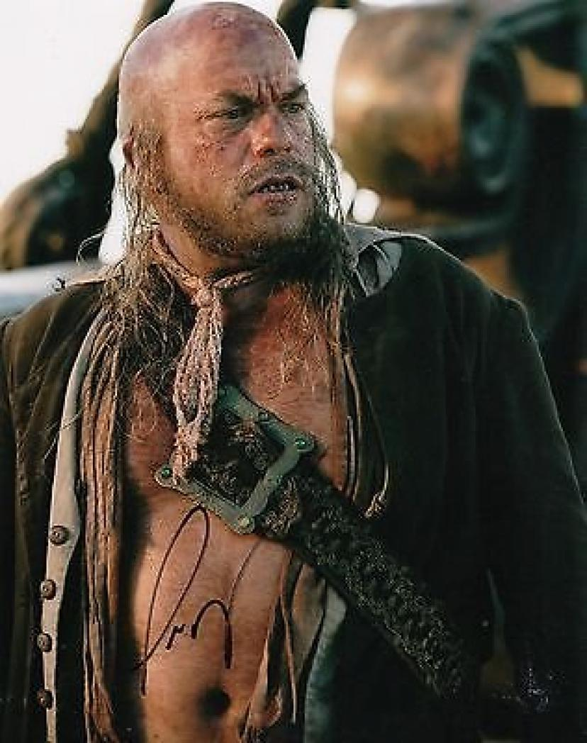 Lee Arenberg Signed 8x10 Photo w/COA The Pirates of the Caribbean Pintel #3