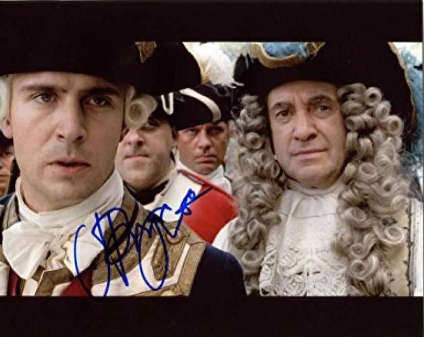 JONATHAN PRYCE signed *PIRATES OF THE CARIBBEAN: AT WORLD'S END* 8x10 Photo Governor Weatherby Swann W/COA #10