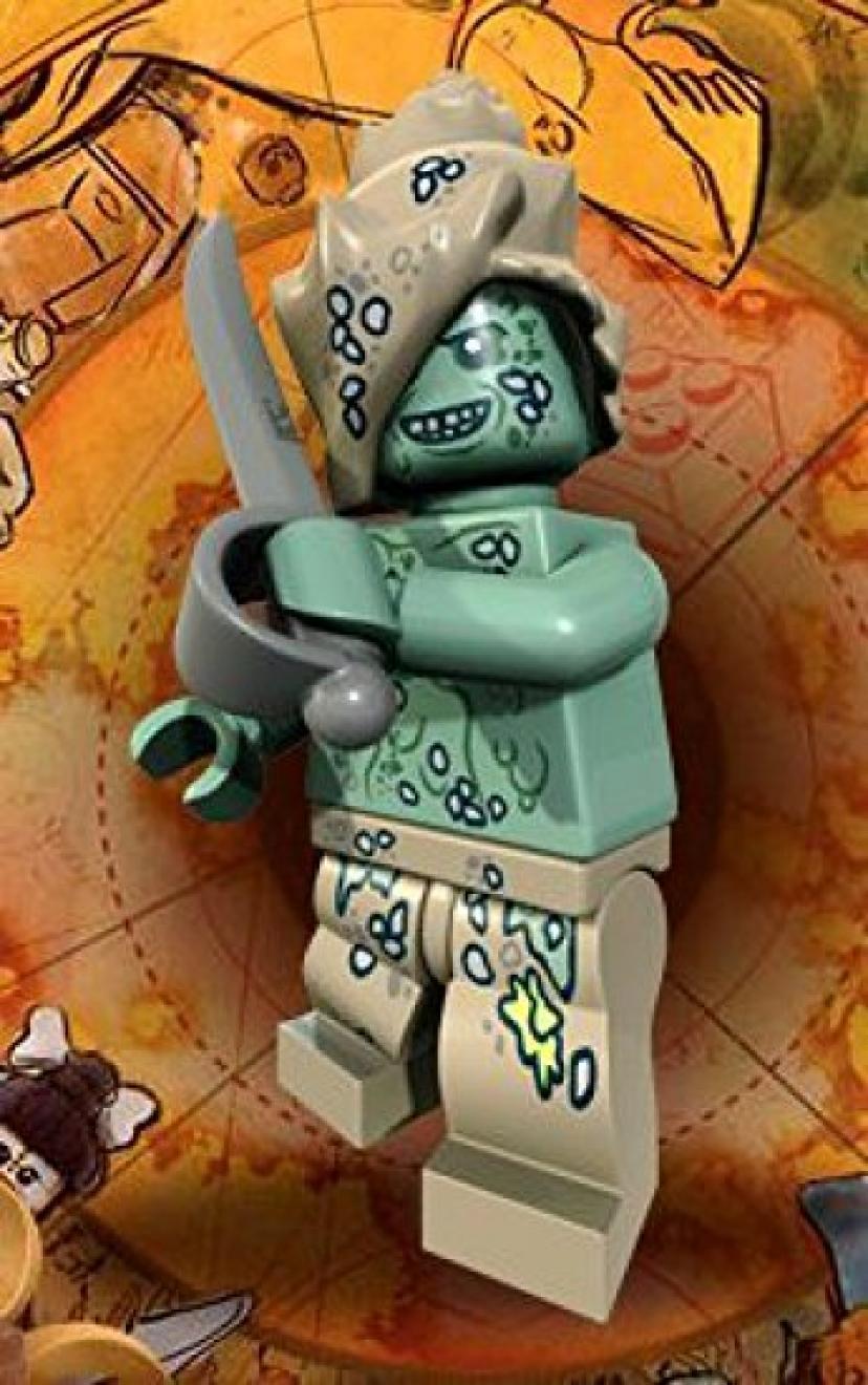 Hadras Lego Pirates of the Caribbean Minifigure