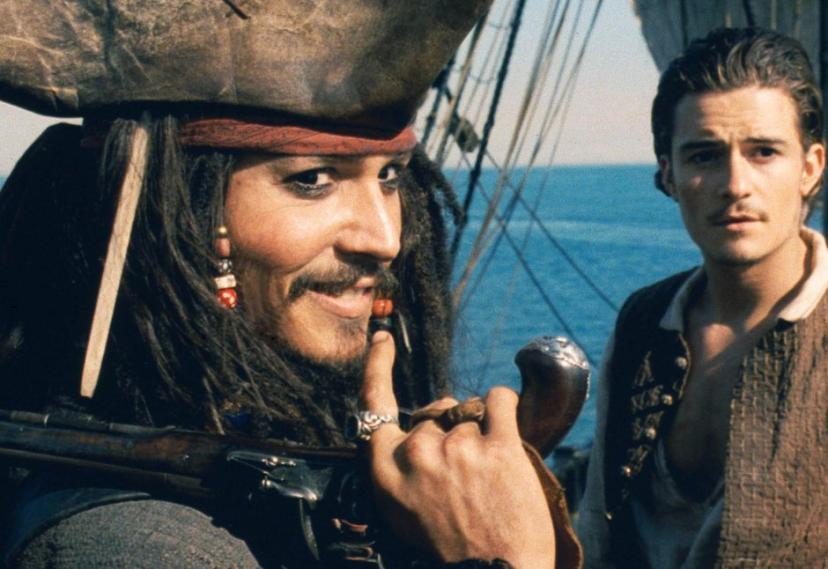 『パイレーツ・オブ・カリビアン 呪われた海賊たち』アマゾンビデオ ジャック・スパロウ&ウィル・ターナー