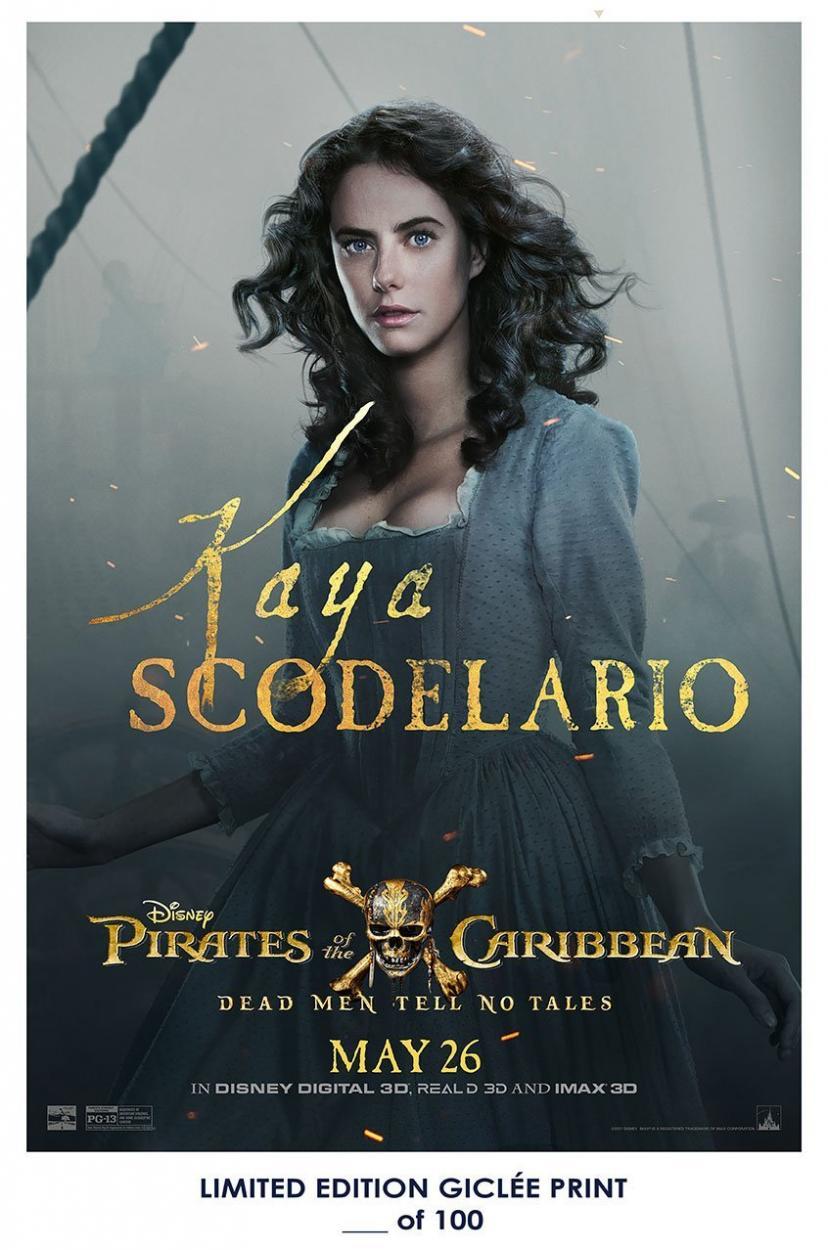 『パイレーツ・オブ・カリビアン/最後の海賊』 カリーナ・スミス
